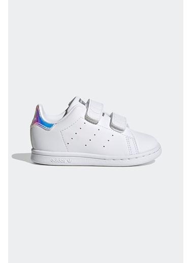 adidas Adidas Kız Bebek Günlük Spor Ayakkabı Stan Smith Cf I Fx7537 Renkli
